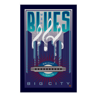 The Blues 2-Poster