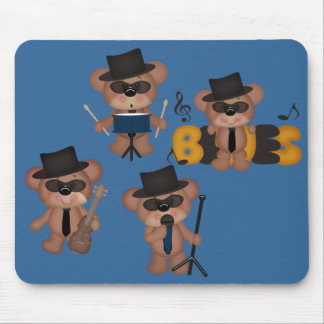 The Blues Bears Mouse Pad
