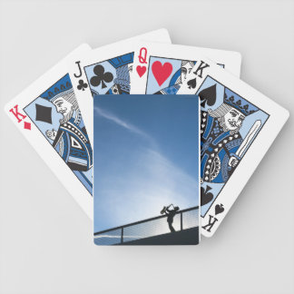 The Blues Bicycle Playing Cards