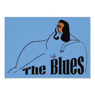 The Blues Female Singer Card