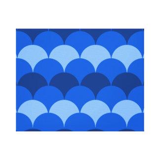 The Blues Gumdrops Canvas Print