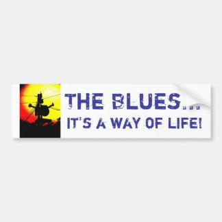 The Blues..., it's a way of life! Bumper Sticker