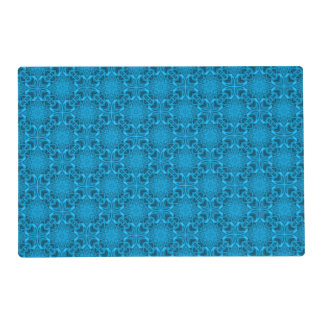 The Blues Kaleidoscope  Colorful Placemats