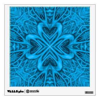 The Blues Kaleidoscope Colorful Wall Decals