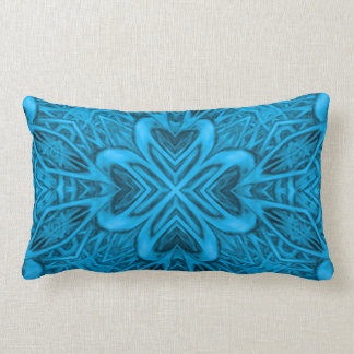 The Blues Kaleidoscope Pattern Lumbar Pillows