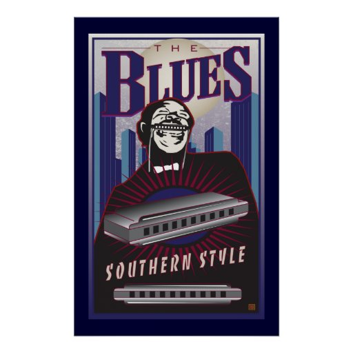 The Blues-Poster