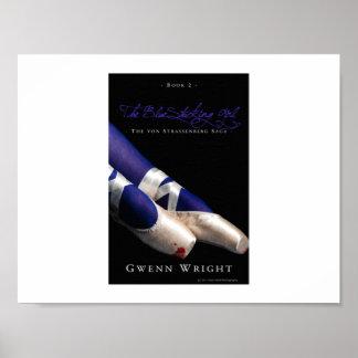 The BlueStocking Girl: Cover Art Poster