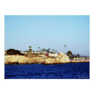 The Bluff at Corona Del Mar Poster
