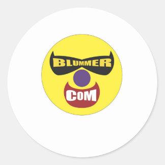 The Blummer Dot Com Store Classic Round Sticker
