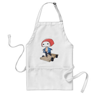 The bo of high class densely it is so English Adult Apron