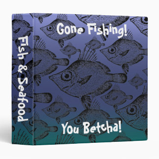 The Boar Fish: Gone Fishing - Recipe Binder