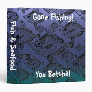 The Boar Fish: Gone Fishing - Recipe Binder