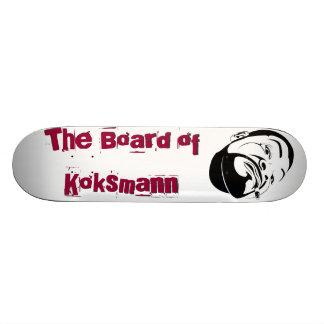 The board OF coke man
