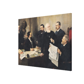 The Board of Directors Canvas Print