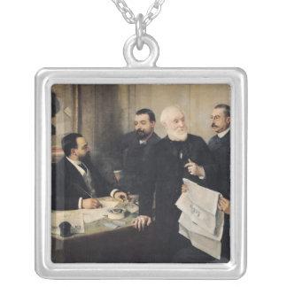 The Board of Directors Square Pendant Necklace