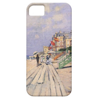 The Boardwalk at Trouville by Claude Monet iPhone SE/5/5s Case