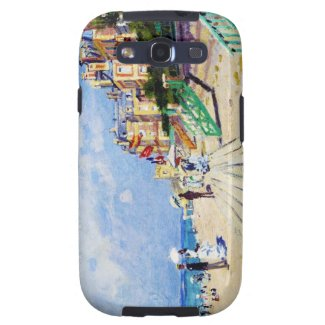 The Boardwalk at Trouville Claude Monet Samsung Galaxy SIII Cases