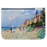The Boardwalk at Trouville Claude Monet Cases For Kindle
