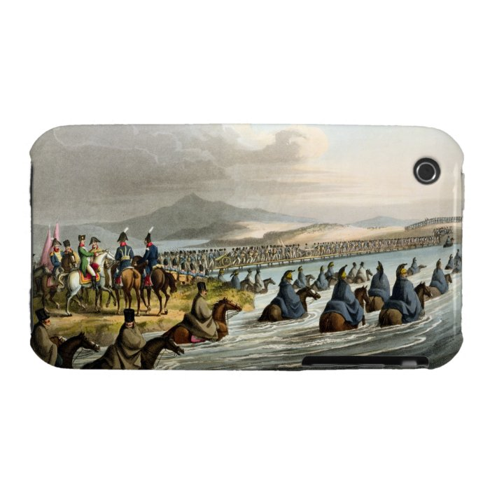 The Boasted Crossing of the Niemen at the Opening iPhone 3 Case