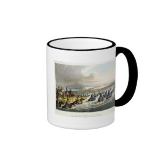 The Boasted Crossing of the Niemen at the Opening Ringer Mug