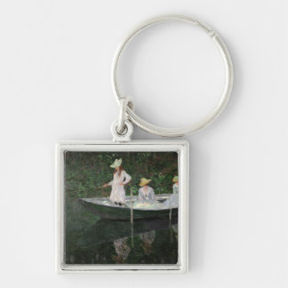 The Boat at Giverny, c.1887 Key Chains