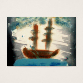 The Boat ATC Business Card