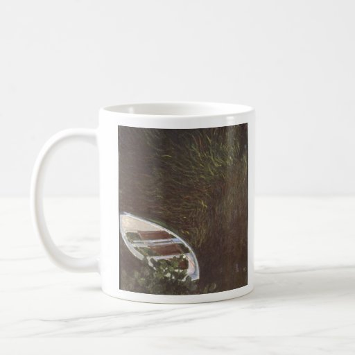 The Boat by Claude Monet Coffee Mugs