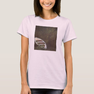 The Boat by Claude Monet T-Shirt