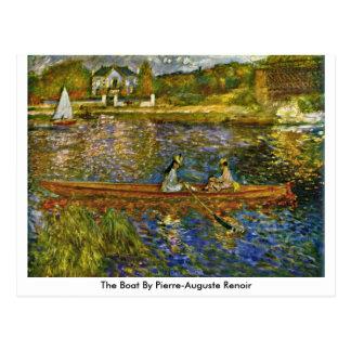 The Boat By Pierre-Auguste Renoir Postcard