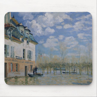 The Boat in the Flood, Port-Marly, 1876 Mouse Pad