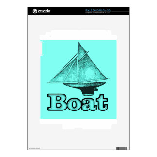 the boat iPad 2 decals