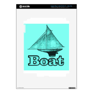 the boat iPad 3 decals