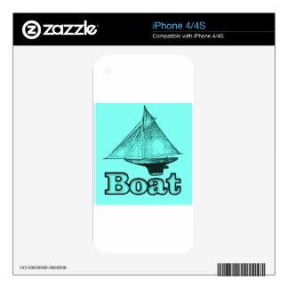 the boat iPhone 4S decal