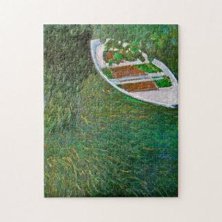 The Boat Monet Fine Art Jigsaw Puzzle