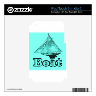 the boat skin for iPod touch 4G