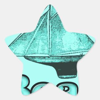 the boat star sticker