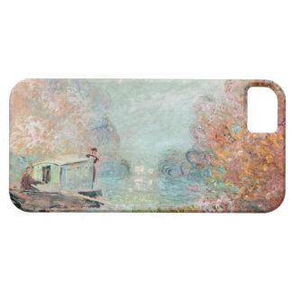 The Boat Studio on the Seine, 1875 iPhone SE/5/5s Case