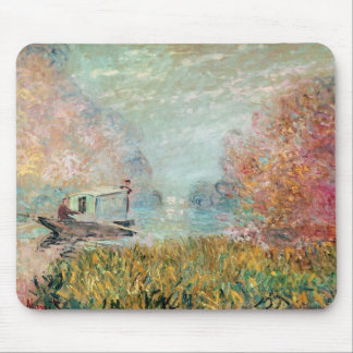 The Boat Studio on the Seine, 1875 Mouse Pad