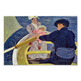 The Boat Trip By Cassatt Mary (Best Quality) Poster
