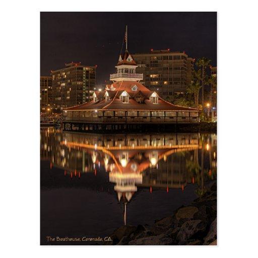 The Boathouse, Coronado California Post Card