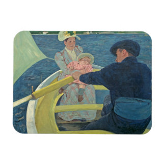 The Boating Party, 1893-94 (oil on canvas) Magnet