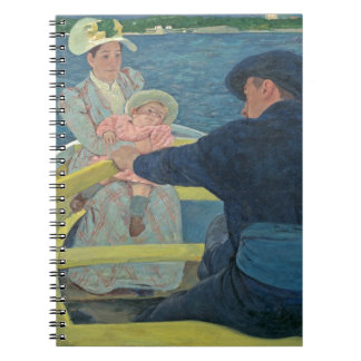 The Boating Party, 1893-94 (oil on canvas) Spiral Notebook