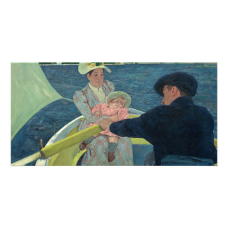 The Boating Party by Mary Cassatt Card