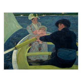 The Boating Party by Mary Cassatt Posters