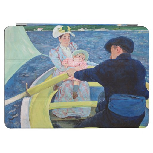 The Boating Party, Mary Cassatt iPad Air Cover