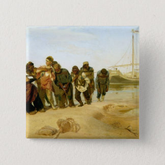 The Boatmen on the Volga, 1870-73 Button