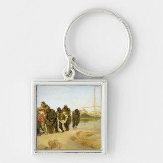 The Boatmen on the Volga, 1870-73 Keychain