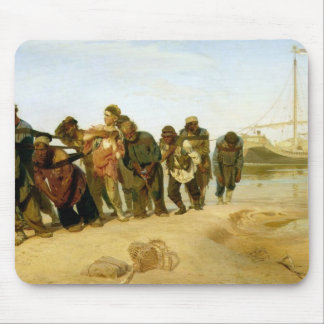 The Boatmen on the Volga, 1870-73 Mouse Pads