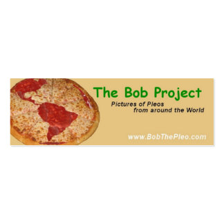 The Bob Project Business Card Templates