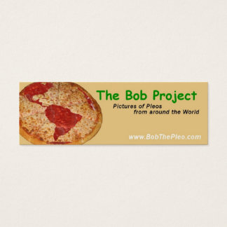 The Bob Project Mini Business Card